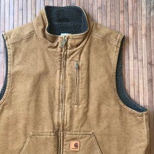 Carhartt • Mock Neck Fleece Lined Utility Vest
